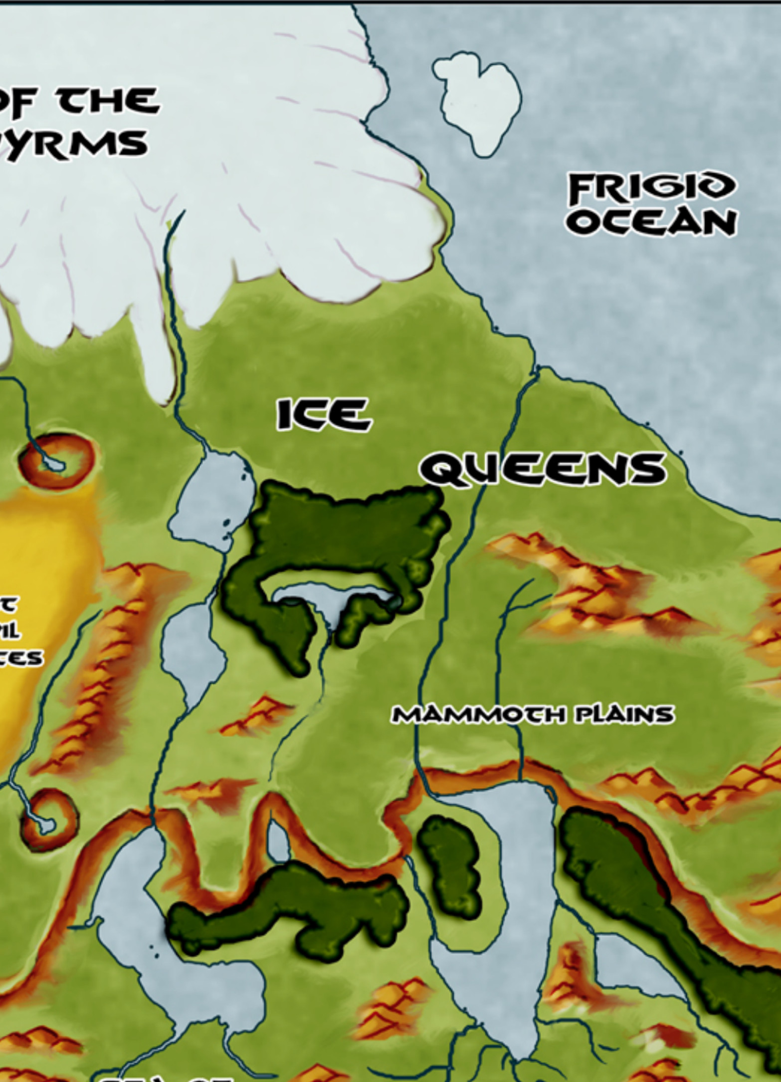 The Frozen Lands