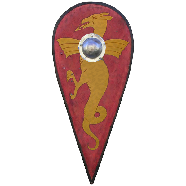 These shields became common during Uthers rule