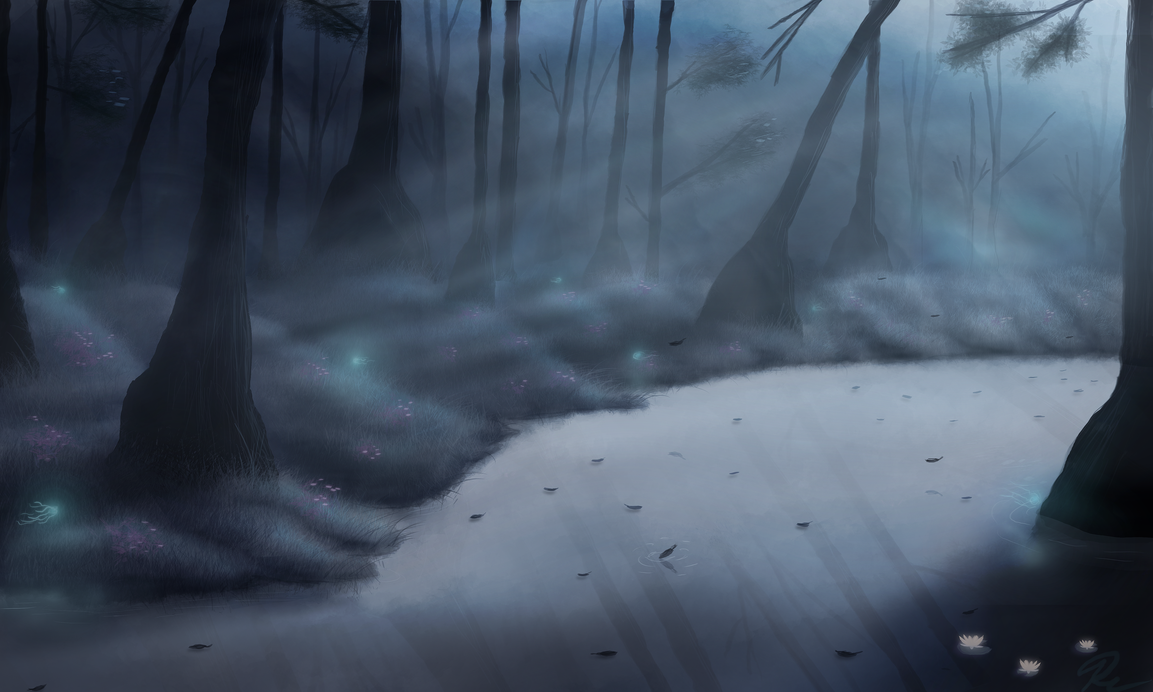 foggy_fantasy_swamp_speedpaint_by_solfour-d6d8hlh.png