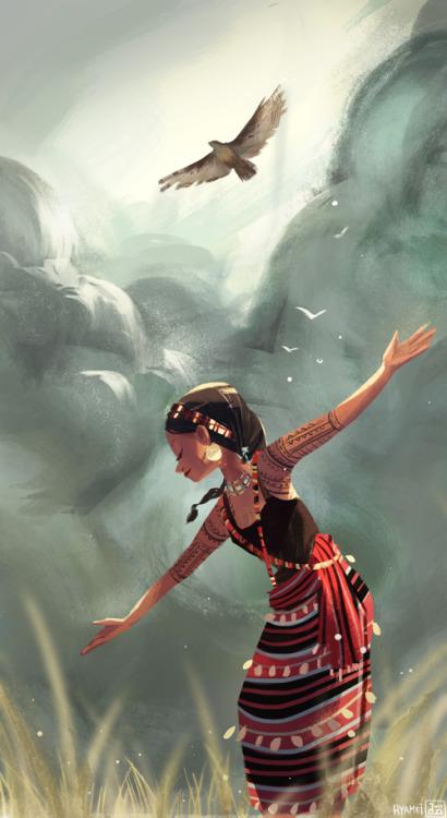 Seren, The Flight of Fancy