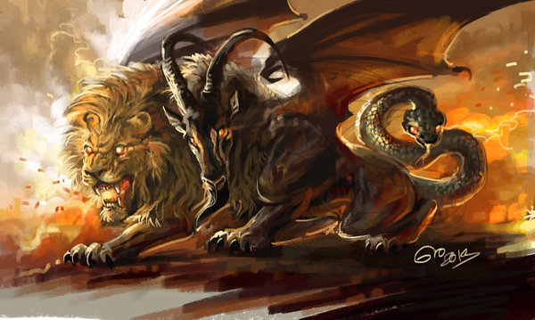 doodle_153___chimera_by_giovannag-d6aoqvp.jpg