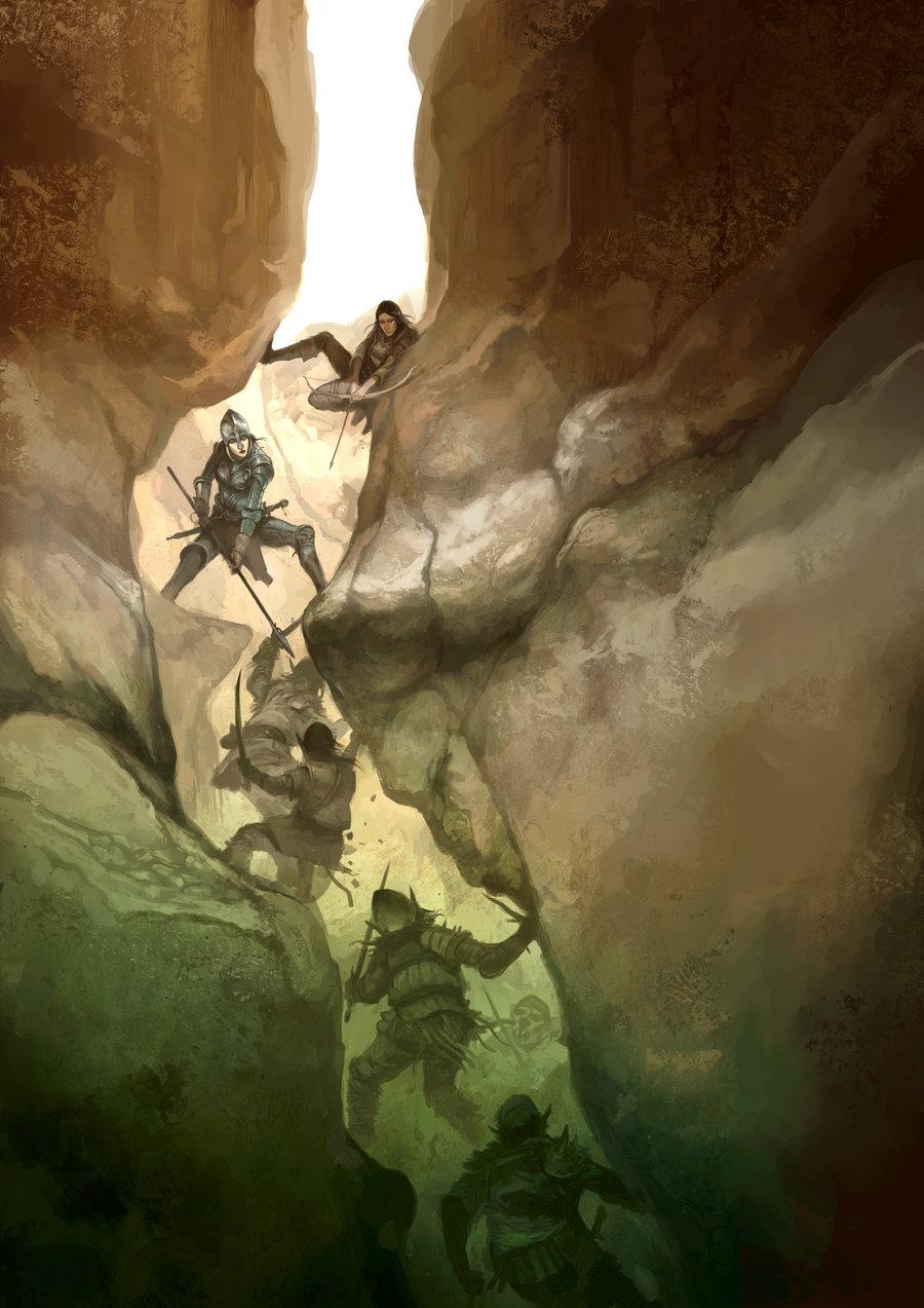 chasm_fighters_by_jonhodgson-d1kaa4l.jpg