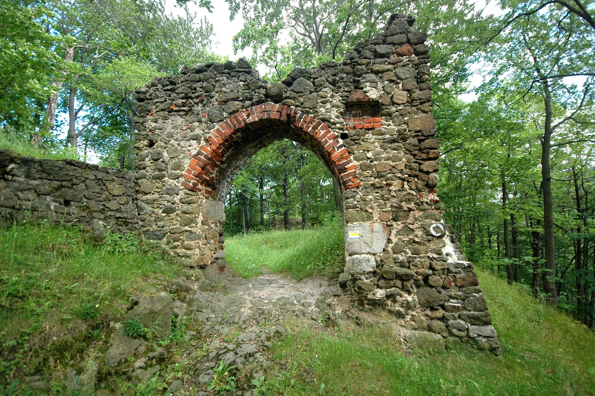 Ruiny opactwa Strum