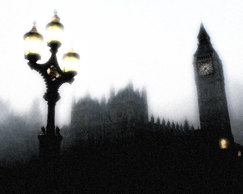 London fog mist edit