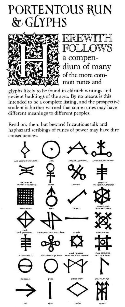 Symbols And Runes Alfaysia Obsidian Portal