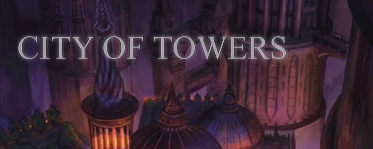 City of towers heading