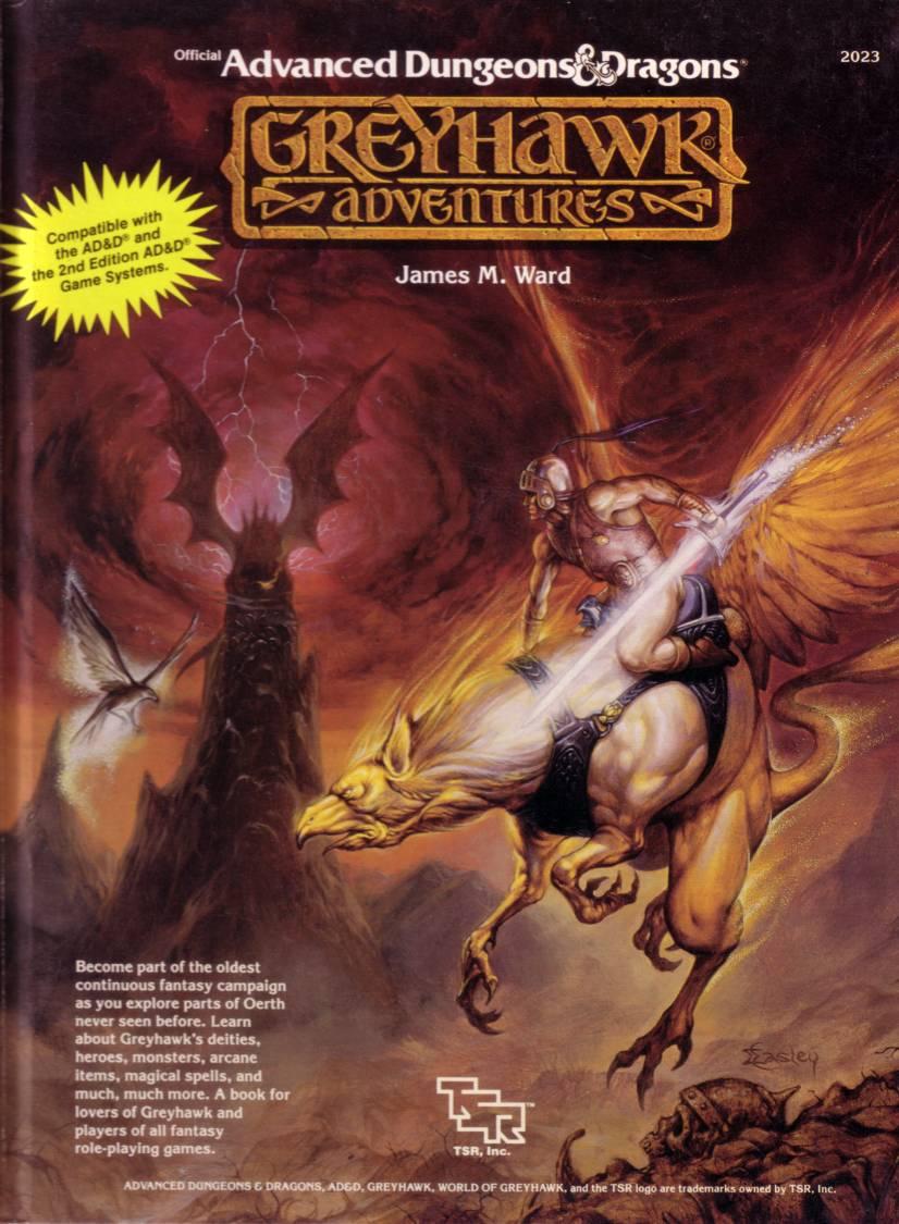 Add greyhawk adventures p1