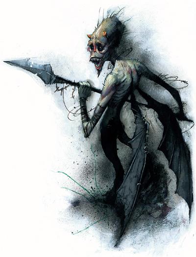 Sorrowsworn demon by jonathan wayshak