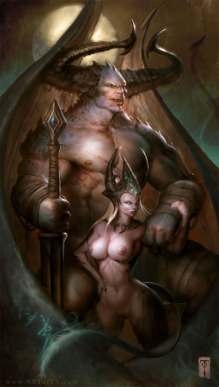 Demon erotic art hentia tube