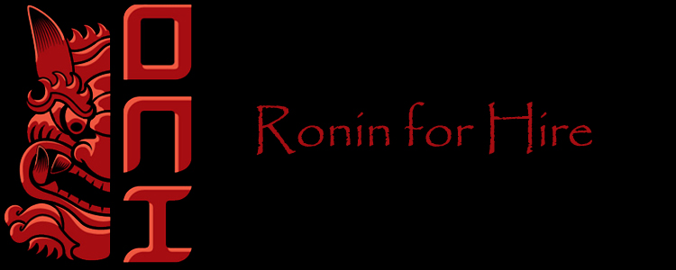 Oni ronin for hire