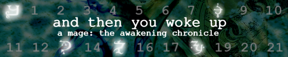 And then you woke up