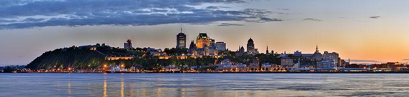 Quebec panorama