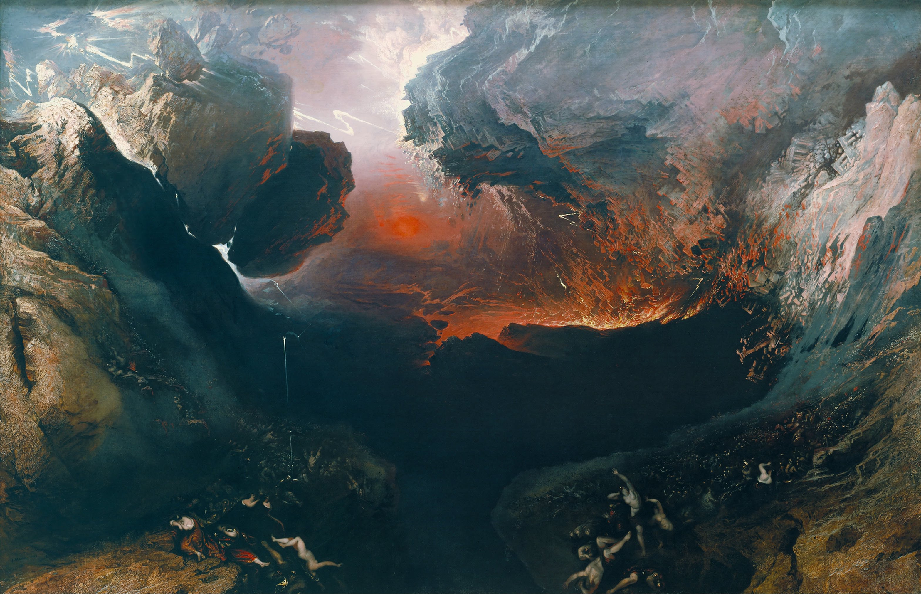John martin   the great day of his wrath   google art project