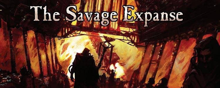 Savage expanse banner