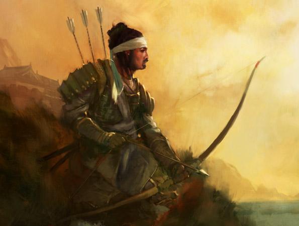 Mantis clan archer