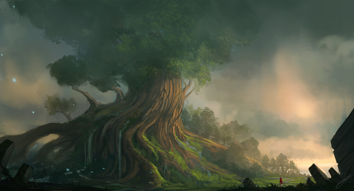 Yggdrasil by blinck d4rdbxf