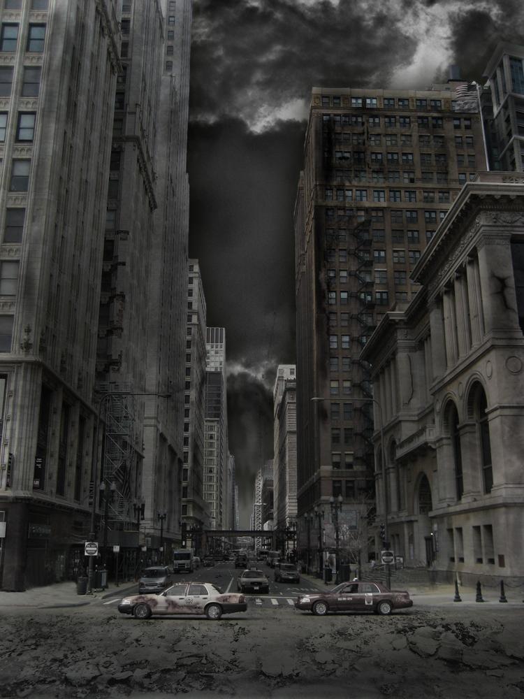 Abandoned city by ravandel