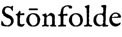 Stonfolde banner