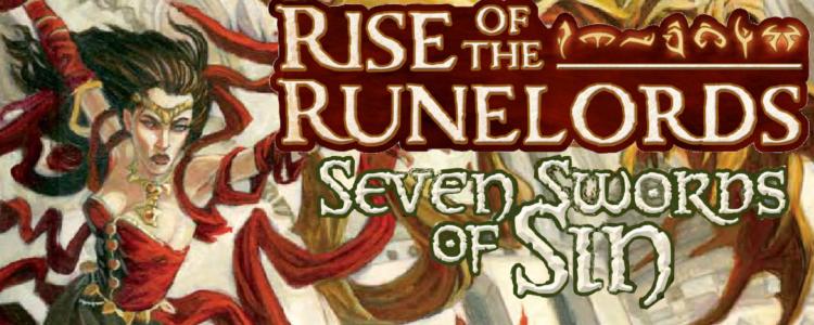 Seven swords of sin banner