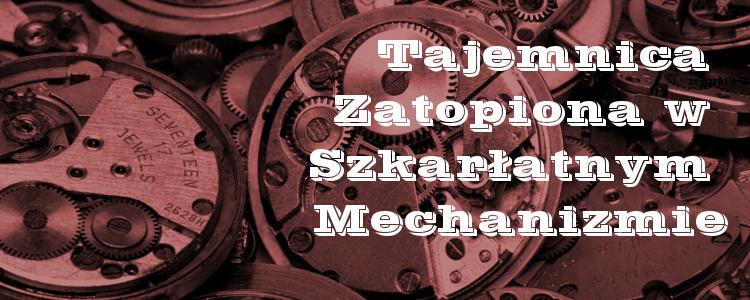 Mechanizmy zegarkow