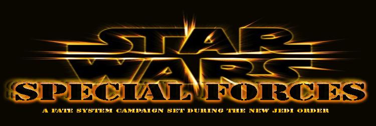 Saga star wars special forces banner