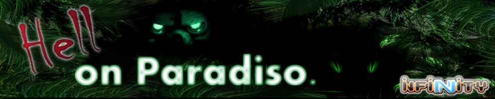 Hell on paradiso banner