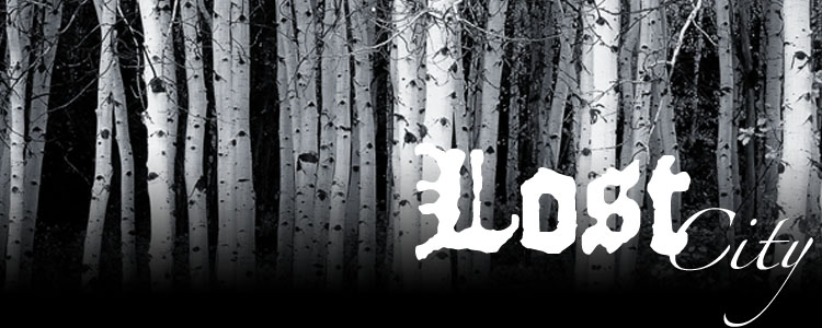 Lost city banner
