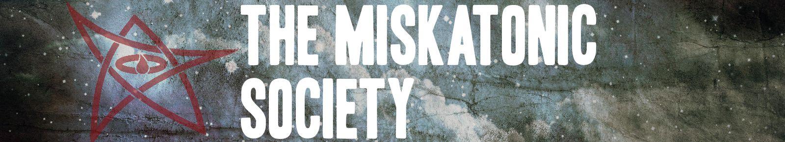 Miskatonic banner3