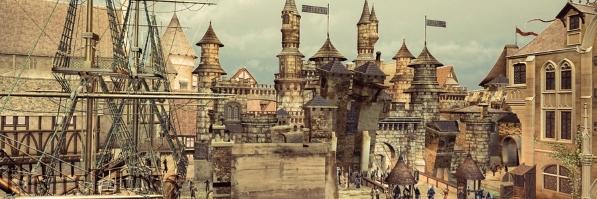 Medieval city mix by turtletjones d41flo8