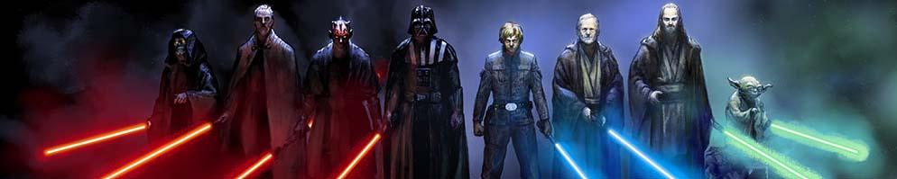 Star wars jedi vs sith wallpaper 8cropped