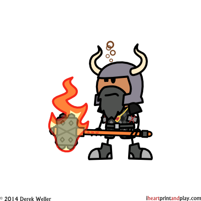Dwarf_Fighter_Dirty_Biskit_6.05-_Flaming_Maul___Amulet_of_Health__LP3_.png