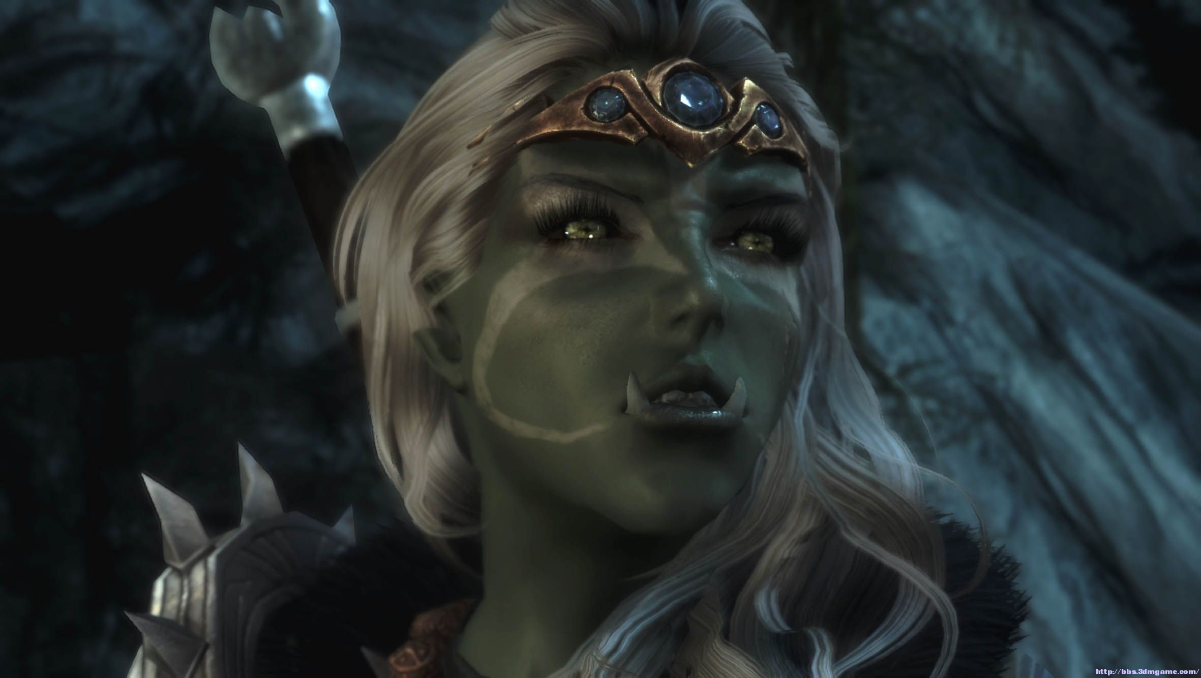 Female elf and orcs sex scenes