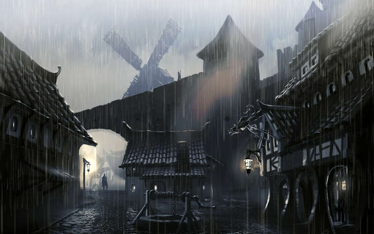 cityscapes_streets_rain_artwork_medieval_windmills_the_elder_scrolls_v_skyrim_2560x1600_wallpape_www.wallpaperfo.com_58.jpg