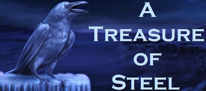 Treasure of steel banner
