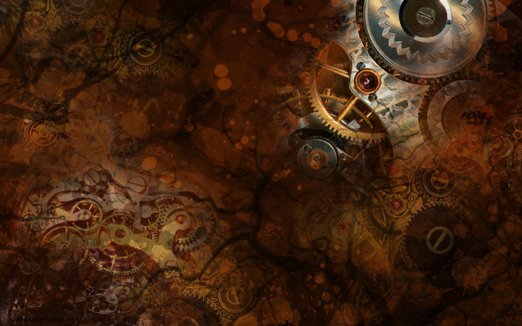 Steampunk wallpaper by flameraven 1