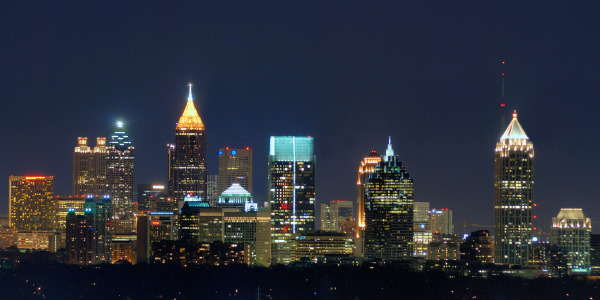 Atlanta skyline from buckhead  1