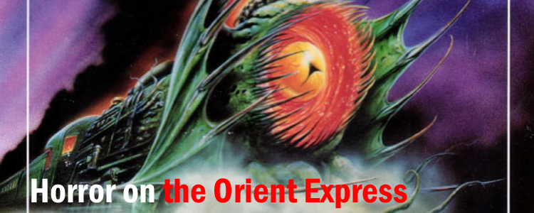 Horror on the orient express banner