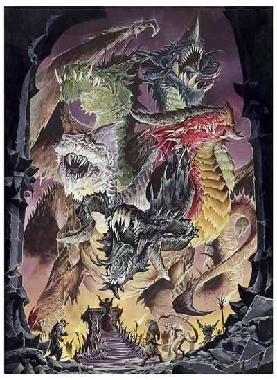 The cult of tiamat by wayne reynolds