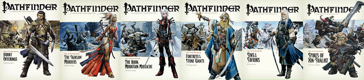 Pathfinder covers 001