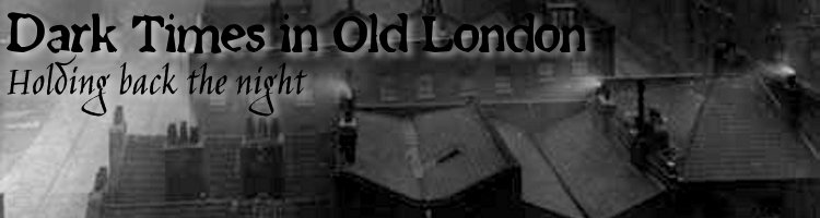 Dark times in old london  banner