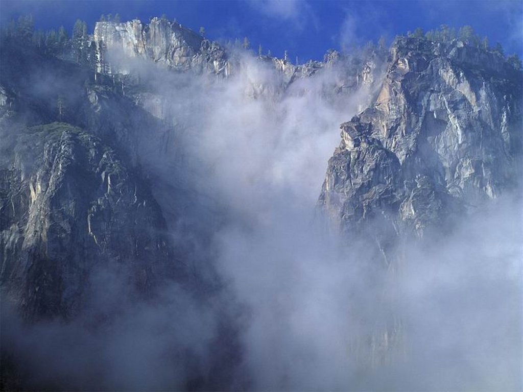 Mountain fog wallpapers
