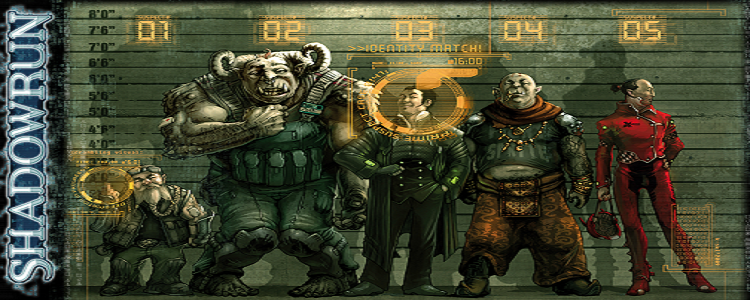 Shadowrun suspects wallpaper by klausscherwinski
