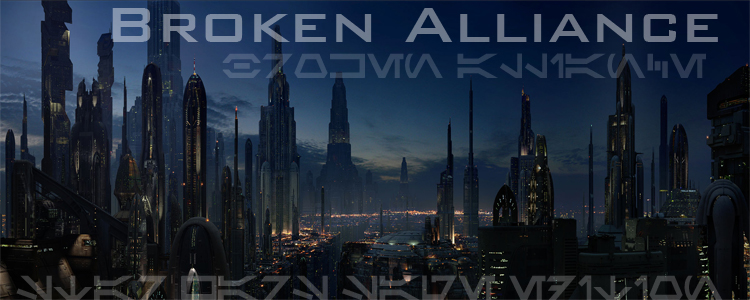 Broken alliance banner