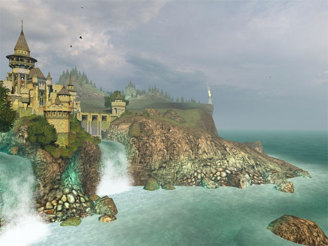 Ancient castle 3d screensaver