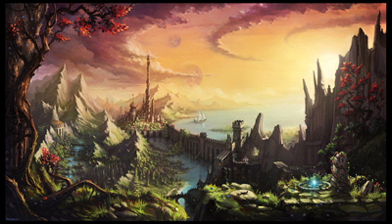Fabulously beautiful landscape by haryarti d4ep253