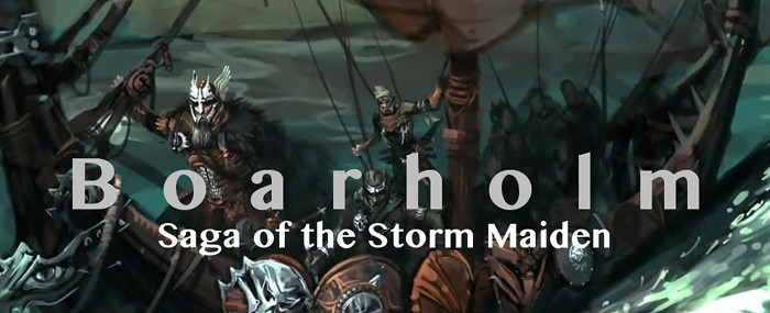 Boarholm saga of the storm maiden vii  2 v3.5