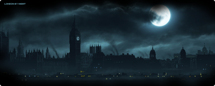 London by night banner