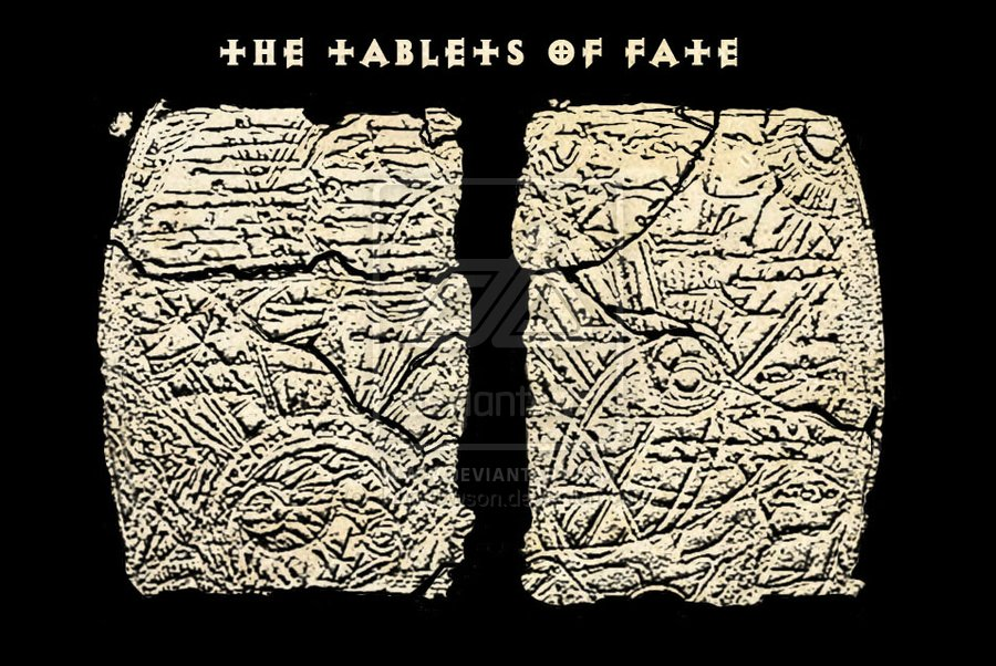 The two tablets of fate by johndowson