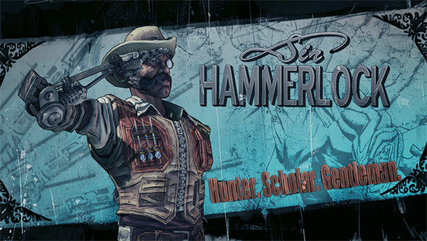 Borderlands 2s third dlc is sir hammerlocks big game hunt
