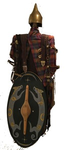 Celtic warriors garments